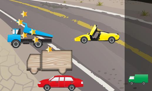 Capture d'écran Puzzle pour enfants voitures