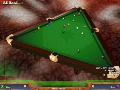 Capture d'écran Billiard Art