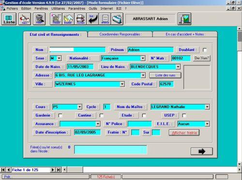Capture d'écran Gestecol32