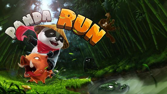 Capture d'écran Panda Run