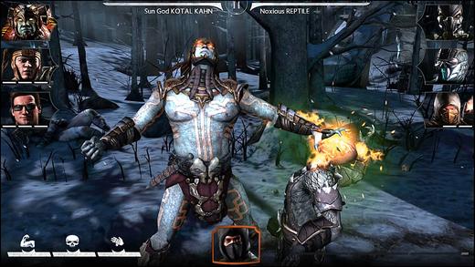 Capture d'écran Mortal Kombat X iOS