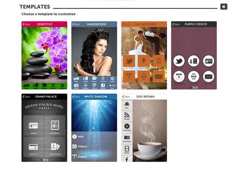Capture d'écran Tiger App Creator, Application Builder