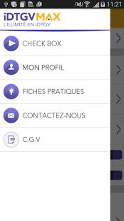 Capture d'écran IDTGVMAX : l'illimité en iDTGV