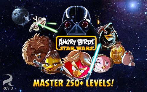 Capture d'écran Angry Birds Star Wars HD