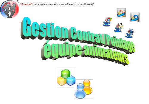 Capture d'écran GestiContratPointage