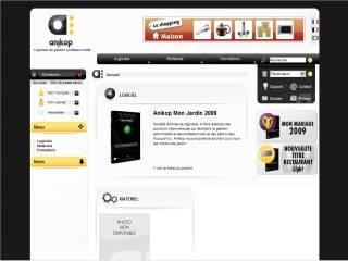 Capture d'écran ANIKOP MON JARDIN 2009