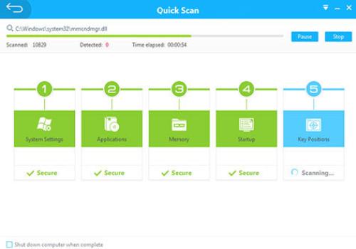 Capture d'écran 360 Internet Security