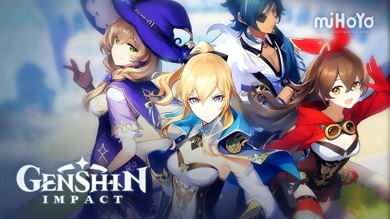 Capture d'écran Genshin Impact Android