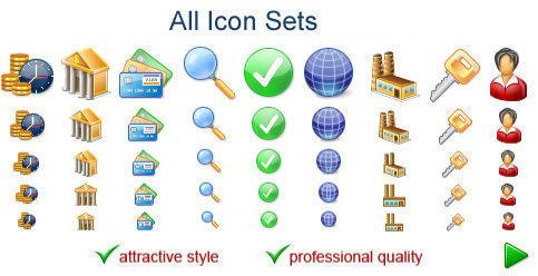 Capture d'écran All Icon Sets