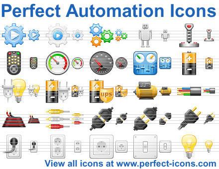 Capture d'écran Perfect Automation Icons