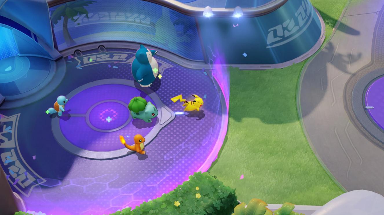 Capture d'écran Pokémon Unite Android