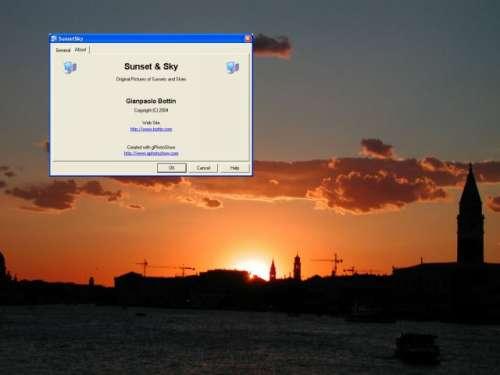 Capture d'écran Sunset And Sky Screen Saver