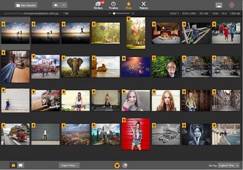 Capture d'écran SnapSelect Mac