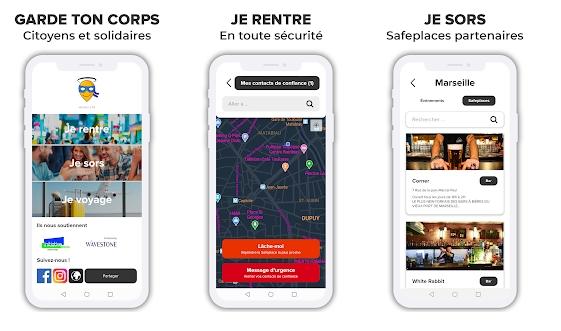 Capture d'écran Garde ton Corps pour Android