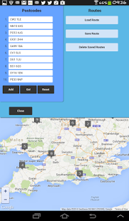 Capture d'écran Delivery Planner