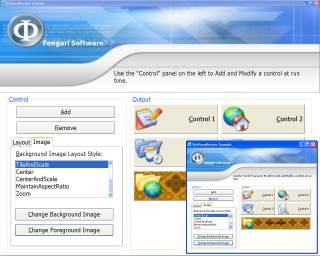 Capture d'écran WinFormResizer for .NET 1.1
