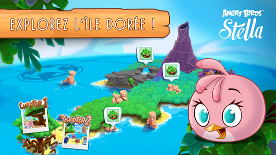 Capture d'écran Angry Birds Stella