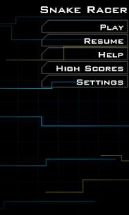 Capture d'écran Snake Racer