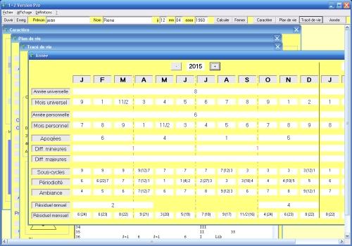Capture d'écran 1+2 Version Pro