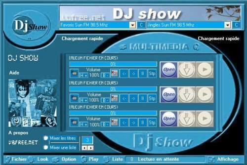 Capture d'écran DJ show
