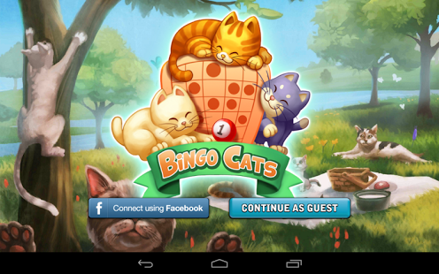 Capture d'écran Bingo Cats