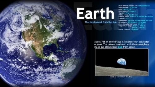Capture d'écran Cool Educational Screensaver