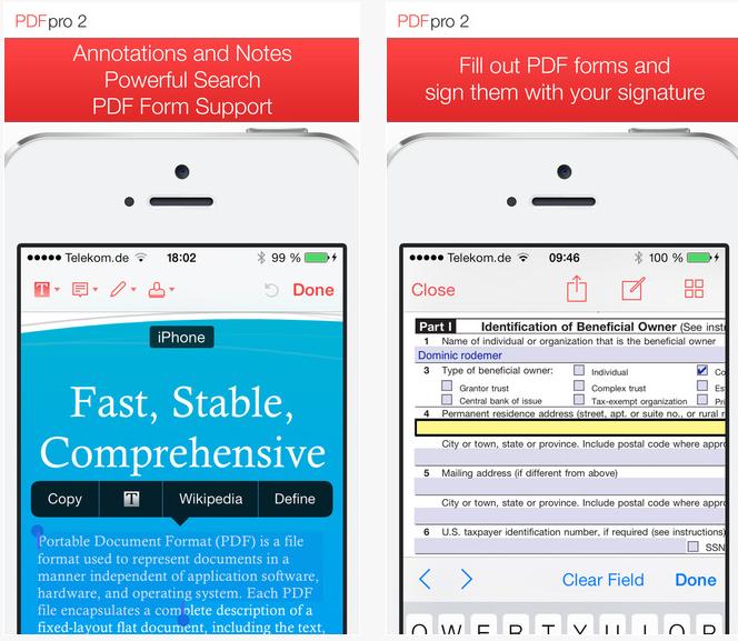 Capture d'écran PDF Pro
