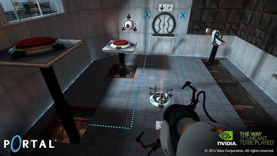 Capture d'écran Portal