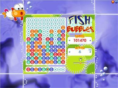 Capture d'écran Fish Bubbles