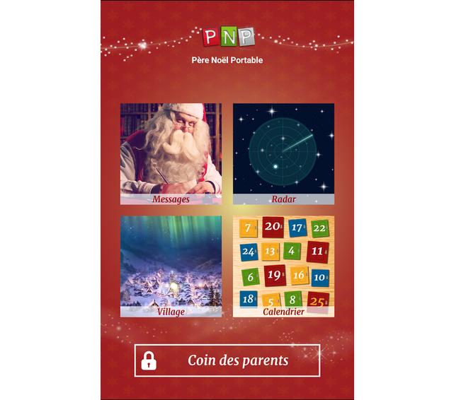 Capture d'écran Père Noël Portable android