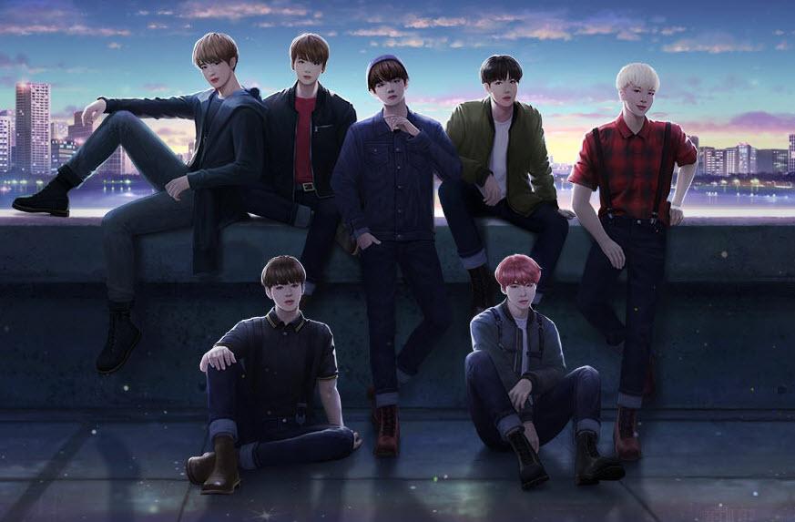 Capture d'écran BTS Universe Story Android