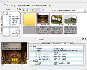 Capture d'écran XnviewMP Mac