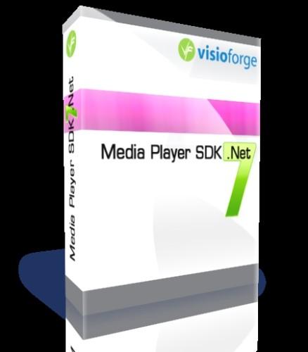 Capture d'écran VisioForge Media Player SDK .Net