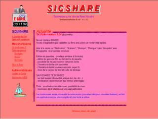 Capture d'écran SicAudio