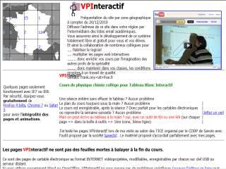 Capture d'écran vpinteractif