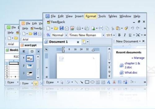 Capture d'écran Kingsoft Office Suite Professional 2013