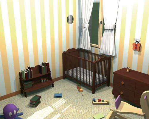 Capture d'écran Chambres d'enfants 3D