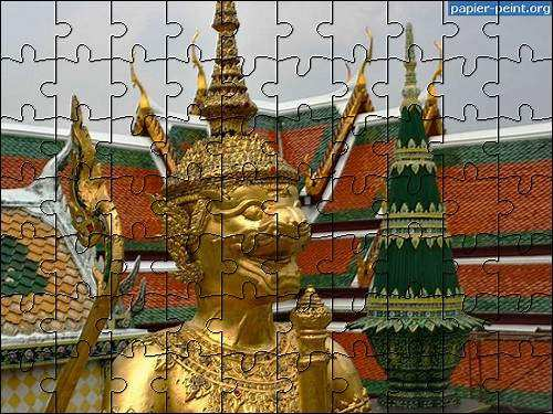 Capture d'écran Puzzles Asie 6