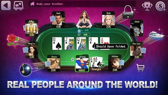 Capture d'écran Poker Mania