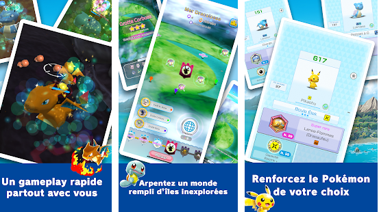Capture d'écran Pokémon Rumble Rush Android