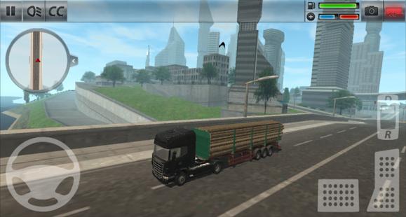 Capture d'écran Camion Simulateur : Ville