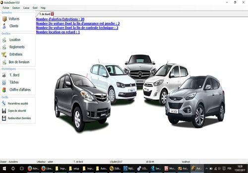 Capture d'écran AutoDealer Location de voitures