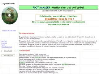Capture d'écran FOOT MANAGER