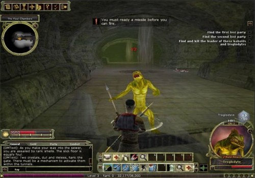 Capture d'écran Dungeons & Dragons Online