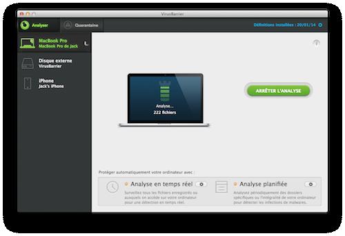 Capture d'écran Intego Mac Premium Bundle X9