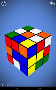 Capture d'écran Cube de Rubik