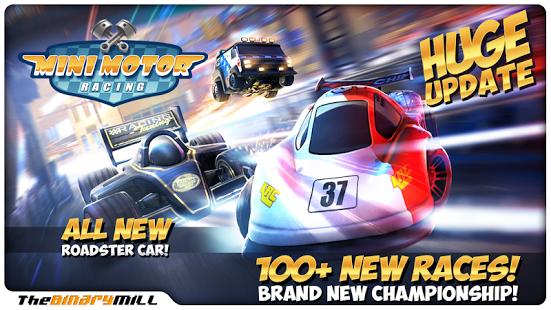 Capture d'écran Mini Motor Racing
