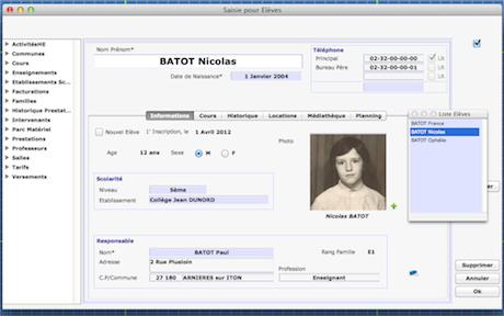Capture d'écran WelcoeM 15.5.7