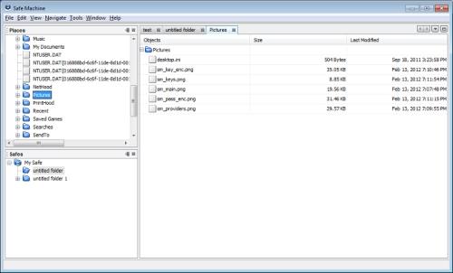 Capture d'écran Safe Machine for Windows