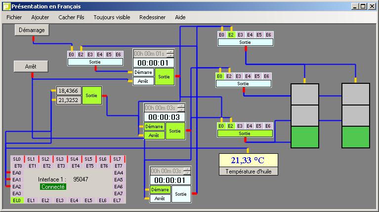 Capture d'écran PCR Automation V2.10 Février 2013 – Automate Programmable
